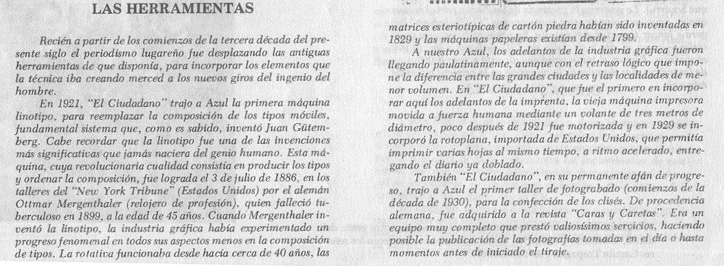 Historia del Periodismo Azuleño 2