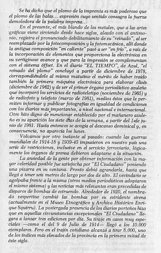 Historia del Periodismo Azuleño 3